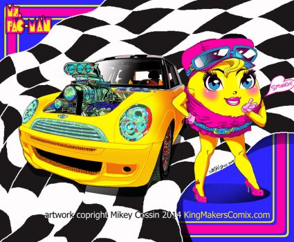 Miss Pacman racer by mikey-c