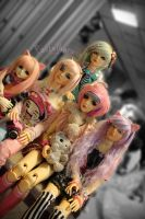 Dolliverse 2014 - pastel gang by Toraiji