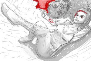 BloodyMary the wolf among us (wip) by alef76304101