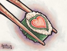 Sushi Love by thrivis