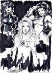 Marvel girls by LadyMignon