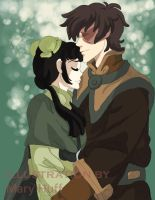 Avatar: Mai and Zuko's date by cherry-mary