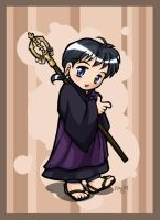 Inuyasha Chibi - Miroku by righteousred