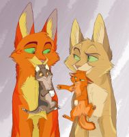 the Leader's Family by Graystripe64