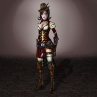 Borderlands 2 Moxxi by ArmachamCorp