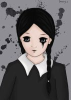 Wednesday Addams by sunny1408