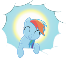 Dash's head in the clouds by Doctor-G