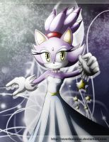 Blaze The Cat - Dreamworld by Dj-Reverberance