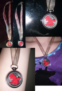 Dragon necklace by Ambrosial-Wolf