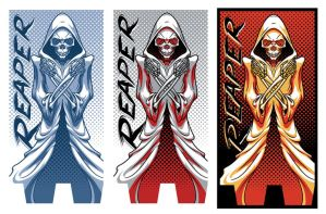 Reaper baseball bat graphics by Cloxboy