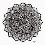 Christmas Mandala by Splund-Art
