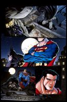 Batman and Superman Samples p1 by GavinMichelli