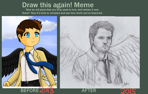 Draw this again meme #2 by sonicgamegirl
