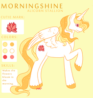 Morningshine: MLP OC by NoxxPlush