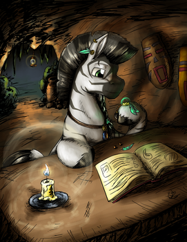 Trinkets and Tomes by KiraMoses