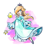 Luma and Rosalina by super-tuler