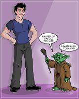 Rayne and Yoda by bandeau