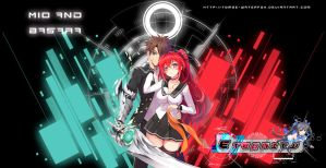 Mio and  Basara eternity by Tomoe-Waterfox