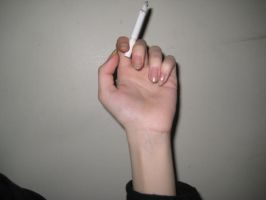 Hand Holding Smoke by willconquers-stock