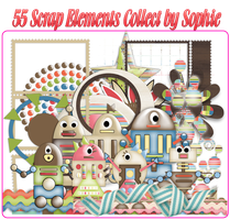 Scrap Elements Collect by Sophie to Everyone by sophie-ddh