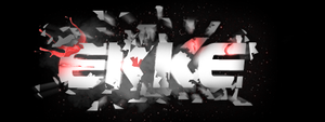 Ekke typography by CheckeredStuffGFX