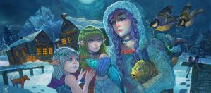 Elf orphans by creusa