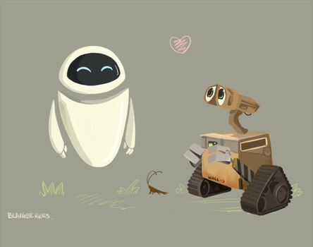 Wall-e by blargberries