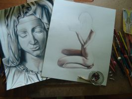 Work in Progress with Colored pencils by JeremyOsborne