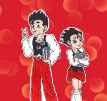 Me and Me: Gohan by starrdust411