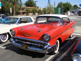 57 Chevy Bel Air by Jetster1