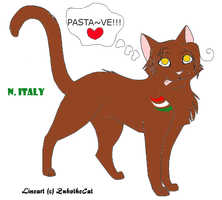 N. Italy Kitty by Papa-France