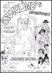 The Adventures of Provolino-Cover bw by FuriarossaAndMimma