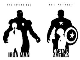 captain and iron by terrorsmile