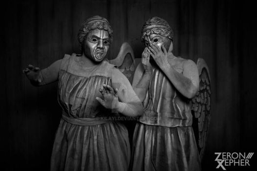 Weeping Angels - 4 by Kilayi