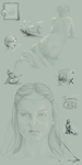 Gallery Icons + Sketches by mynti