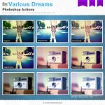 Various Dreams Photoshop Actions by Wnison