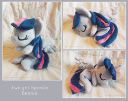 :: Twilight Sparkle Beanie :: by Fallenpeach