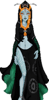 Midna's True Form by Kali-Sedai