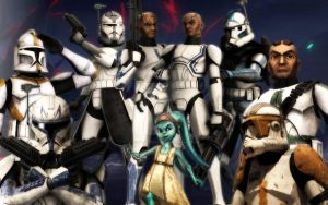 Star Wars The Clone Wars: Clones by Animationfreaky