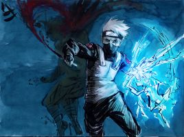 Naruto: Blue energy by 13Mirror