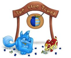 The Blue Tchea by musogato