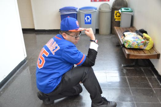 04-22-2017 - Me in my Home Mets Jersey, Tebowing 2 by latiasfan2004