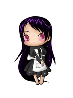 Chibi Maid by pseudoanime