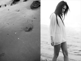 footsteps in the sand by sherani