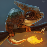 DAY 172. Charmeleon (20 Minutes) by Cryptid-Creations