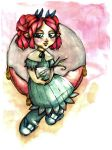 Little Miss Red by Paira