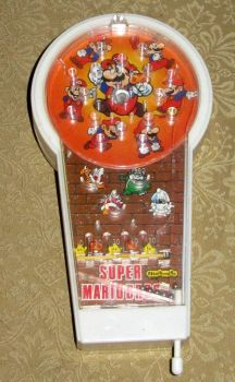 Vintage 80s Mario Pachinko Toy by avaneshop