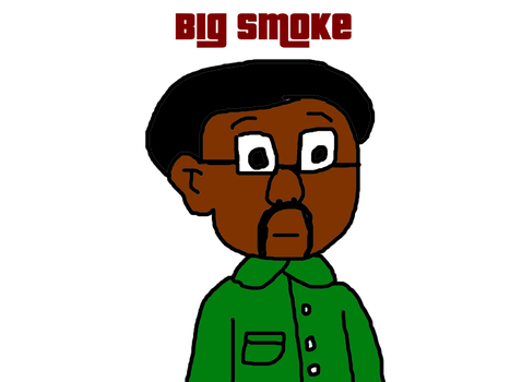 Big Smoke from GTA San Andreas by MikeEddyAdmirer89