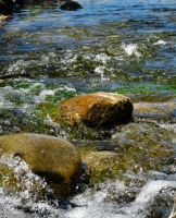 Flowing rapids by OneofakindKnight
