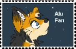 Alu Fan Stamp by Red-Moon-Wolf